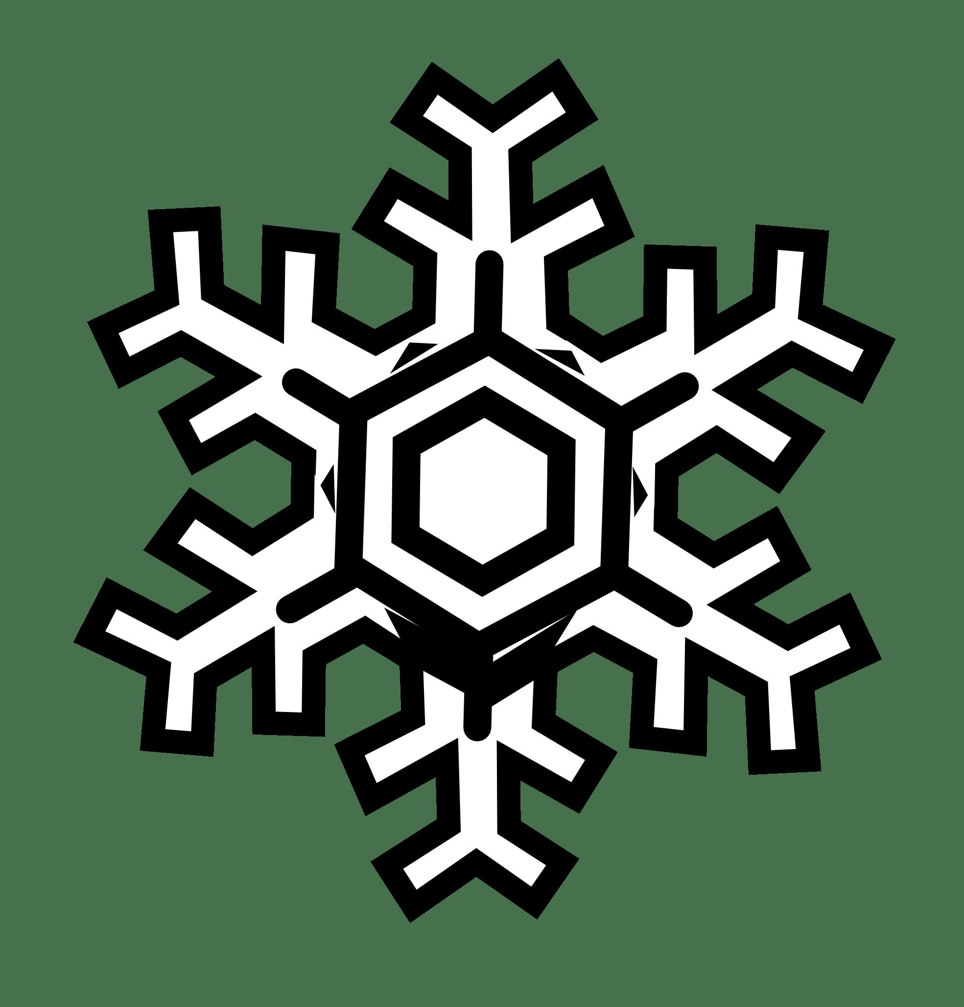 Winter Snowflakes Clipart Clipart Panda