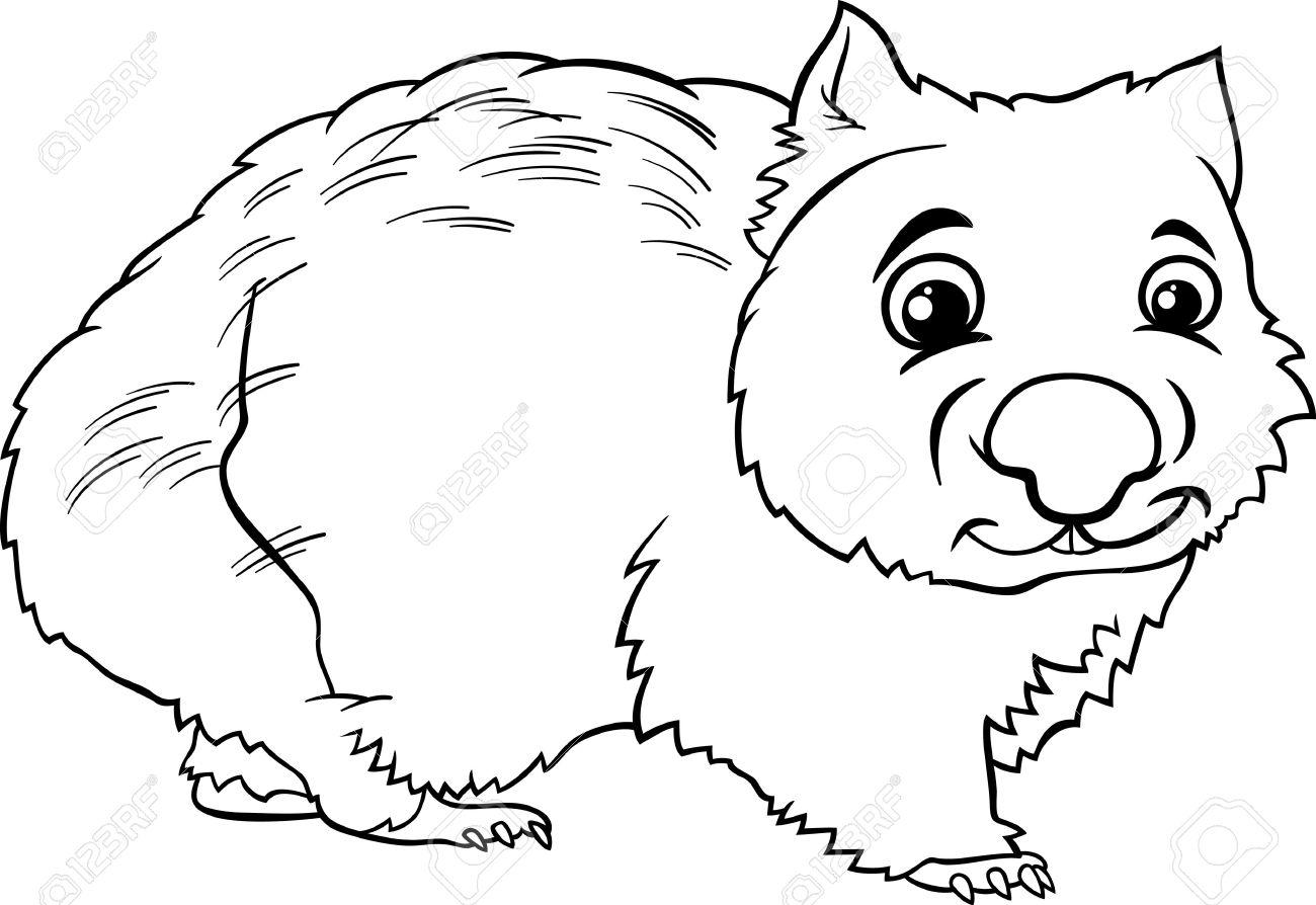 Wombat Clipart Clipart Panda