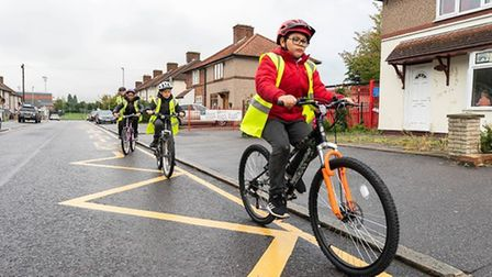 The program is designed to reduce pollution and encourage cycling and walking.  Image: Be the first