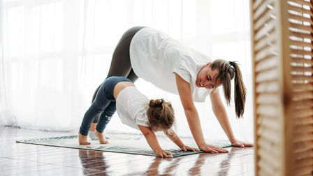 MichelleJermy, who is aspecialistin exercise medicine, cardiacrehabilitation andwomen's wellness, gives low impact Pilate moves to do at home.