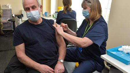 Large-scale Covid vaccination center has opened in Harleston