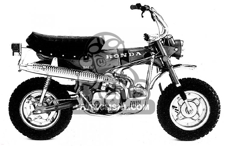 Honda Trail 110 Wiring Diagram