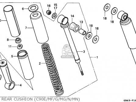 Honda C50 6v Wiring Diagram