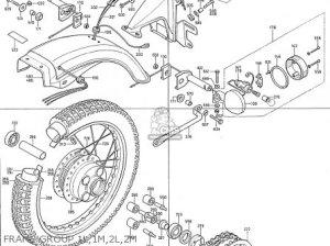Honda Cb400f2 France parts list partsmanual partsfiche