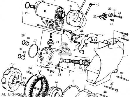Honda Cb550 Parts Manual
