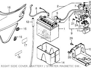 Honda CB650SC NIGHTHAWK 1983 (D) USA parts lists and schematics