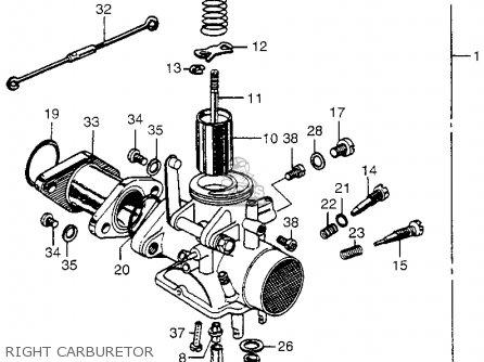 Honda Cl175 Scrambler K0 Usa Parts Lists And Schematics