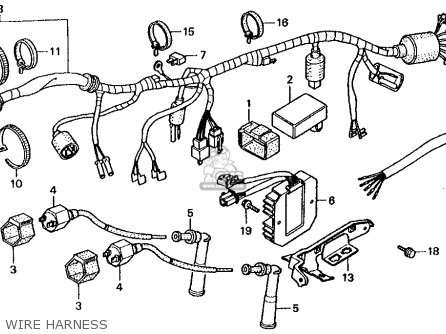 honda cmx250c rebel 250 wiring diagram honda transalp   elsavadorla Wiring Harness Diagram Trailer Wiring Harness