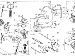 Honda Cmx450c Rebel 450 1986 Usa parts list partsmanual partsfiche