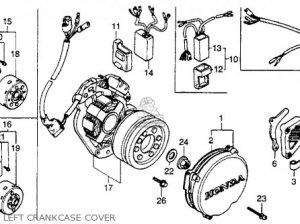 Honda Cr250r Elsinore 1984 (e) Usa parts list partsmanual partsfiche