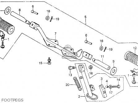 Honda Ct125 Wiring Diagram Honda TRX70 Wiring Diagram