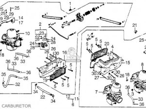 Honda GL1000 GOLDWING 1976 USA parts lists and schematics