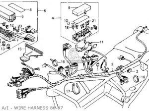 1986 Honda Goldwing 1200 Wiring Diagram Honda Wiring Diagram Images