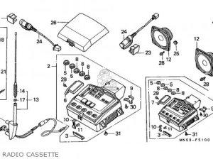 Honda goldwing gl1500 radio external wiring diagram