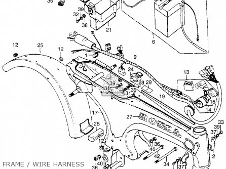 Diagram Honda Z50 Wiring Diagram File Ir29167