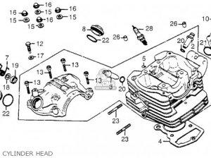 Diagram Of Honda Atv Parts 1984 Trx200 A Transmission