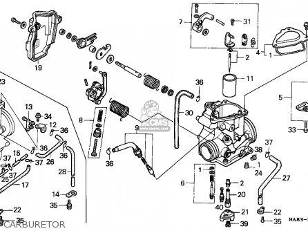 1986 honda spree wiring diagram