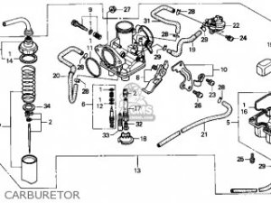 Honda Trx250 Fourtrax Recon 1997 Usa parts list partsmanual partsfiche