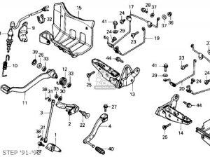 Honda Trx250x Fourtrax 250x 1992 (n) Usa parts list partsmanual partsfiche