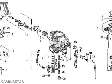 1998 honda fourtrax 300 download carburetor diagram