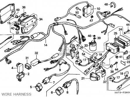 Diagram 1987 Honda Trx 125 Wiring File Yw29942 Thermostat