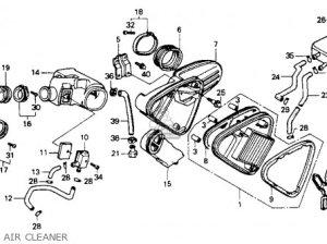 Honda Vt600c Shadow Vlx 1988 Usa parts list partsmanual