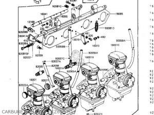 Kawasaki 1982 Kz650h2 Csr parts list partsmanual partsfiche