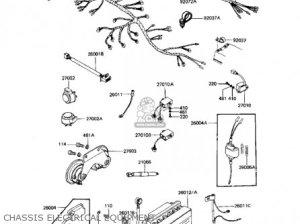 Kawasaki 1983 Kz1100a3 Shaft parts list partsmanual partsfiche