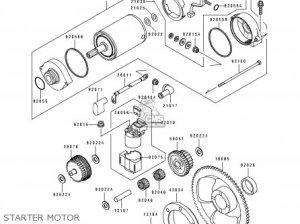 Kawasaki KLX650C1 1993 EUROPE UK FR NL AR FG GR IT SD SP ST parts lists and schematics