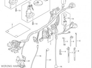 Suzuki Dr650 Se (usa) parts list partsmanual partsfiche