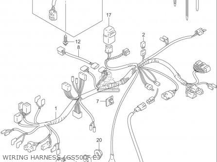 Suzuki Gs500 Fuse Box Suzuki DR650 Wiring Diagram