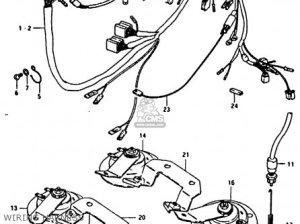 Suzuki Gs850 1981 (gx) parts list partsmanual partsfiche