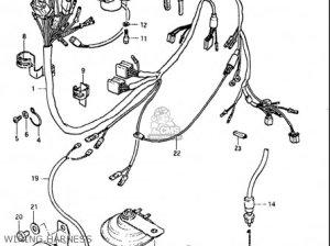 Suzuki Gs850 Gl 19801981 (usa) parts list partsmanual