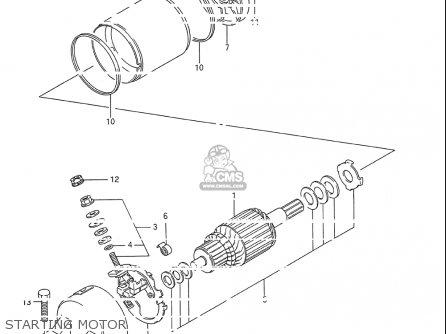 Diagram Diagram Suzuki Rm250 1996 2002