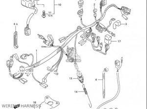 Suzuki Gsx600 F Katana 19881996 (usa) parts list