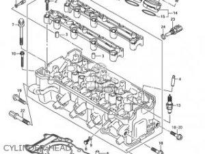 Suzuki Gsxr750 2004 (k4) Usa (e03) parts list partsmanual partsfiche
