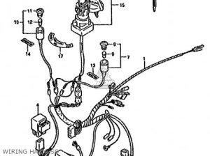 Suzuki LTF160 1993 (P) UNITED KINGDOM AUSTRALIA (E02 E24) parts lists and schematics