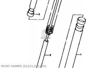 Suzuki RGV250L 1991 (M) (E02 E21 E22 E24) parts lists and schematics
