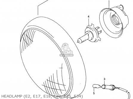1998 Suzuki Intruder 1500 Wiring Diagram : 40 Wiring