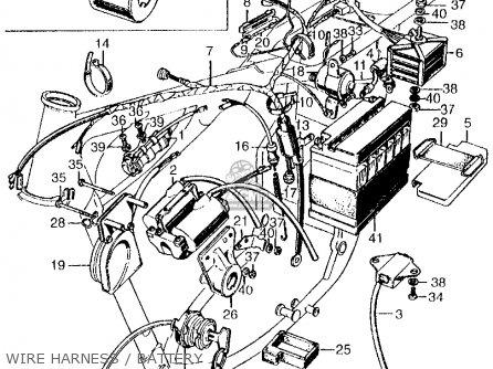 wire harnessbattery_mediumhu0100f2016_98b2?resize=446%2C334&ssl=1 e honda cb 350 wiring diagram cb350 ignition wiring diagram, 360 1971 honda cb350 wiring diagram at honlapkeszites.co
