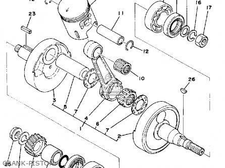 Yamaha Dt 125 Parts Diagram