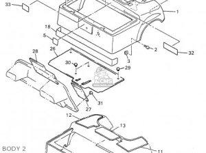 Yamaha G14ap 1996 parts list partsmanual partsfiche