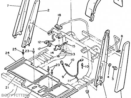 Yamaha G2 E5 Parts Lists And Schematics