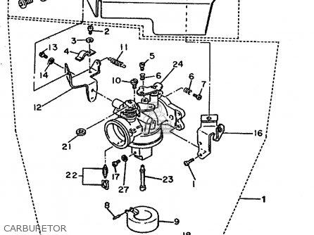 Yamaha G8 Ak Golf Car Parts List Partsmanual Partsfiche