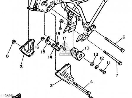 1985 Virago 700 Wiring Diagram