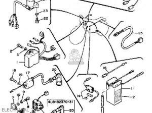 Yamaha Xt125 Dual Purpose 1983 (d) Usa parts list partsmanual partsfiche