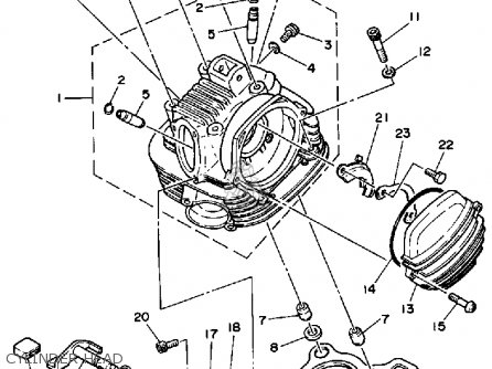 Motorcycle Engine Parts List