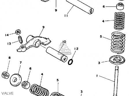 Yamaha Ytm200 L Tri Moto Parts List Partsmanual