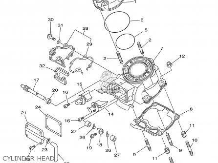 Yamaha Yz125n1 Parts List Partsmanual Partsfiche