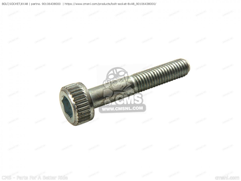 Bolt Socket 8x48 For Cb750f B Australia